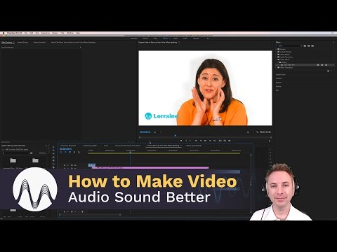 How to Make Adobe Premiere Pro Video Audio Sound Better