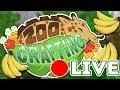 7,000 Adventures?! That's... Bananas!! 🍌🌿 Zoo Crafting: Gardening & Banana Splits! 🔴 LIVE