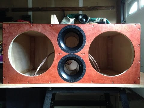 Dual 12 inch sub box re build 7