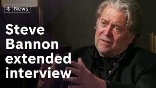 Steve Bannon extended interview on Europe