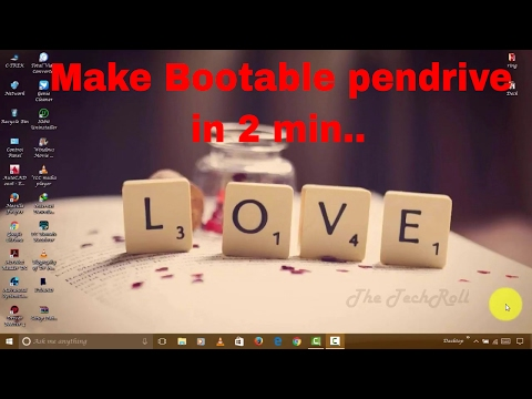 How to make bootable Pendrive without any software(in 2 minutes)