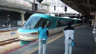 """283系特急くろしお 新大阪駅発車 Limited Express """"kuroshio"""""""