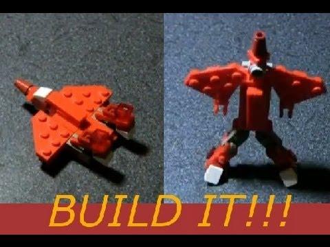 Jet Mini Lego Transformer Build Tutorial (