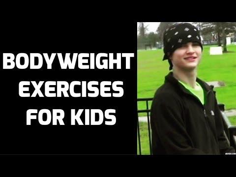 21 KILLER Bodyweight Exercises for Kids