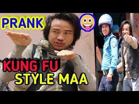 KUNG FU STYLE || PRANK VIDEO || ALISH RAI ||