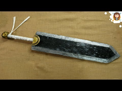 How to Make a Sword With Cardboard
