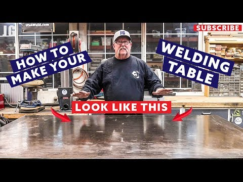 How to Clean Your Welding Table | JIMBO'S GARAGE