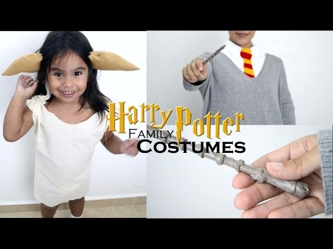 DIY | HARRY POTTER COSTUMES