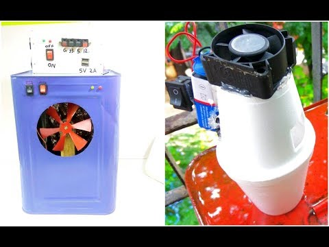 Two different home made cooler   amazing idea   Be Creative.