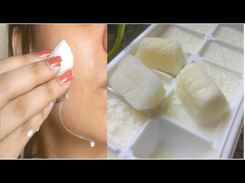Milk icecubes for instant fairness, spotless & crystal clear skin, World's Best skin whitening cubes