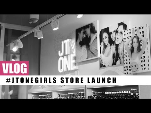 VLOG! JT One Store Launch #JTOneFirsts