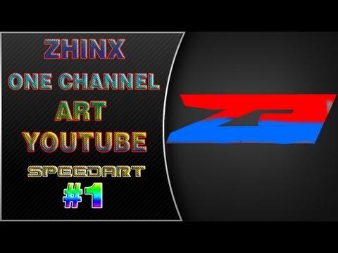 | #1 Youtube One Channel Art Speedart for Ego Zhinx - ProAidenHD