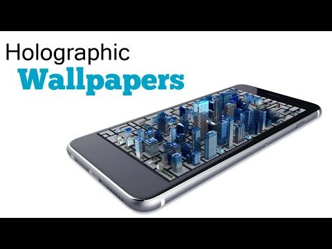 Amazing Holographic Wallpapers for Android 2017