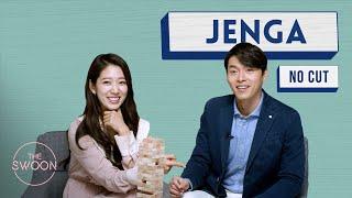 No Cut Park Shin hye And Hyun Bin Play Jenga ENG SUB CC