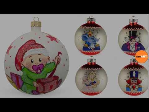 Glass Christmas Tree Decorations - Glass Ball Ornaments