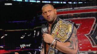 John Cena calls out WWE Champion Batista