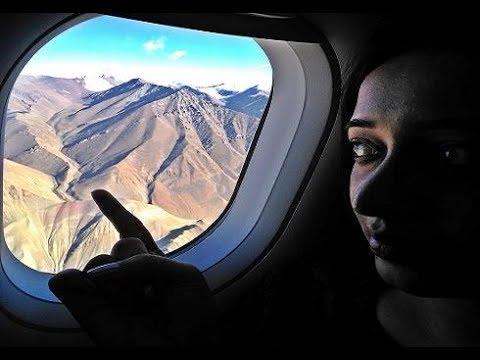 Landing at Leh Airport in Ladakh | Delhi to Leh Vistara Flight Landing at Leh Airport, Ladakh