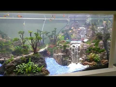 KHENZO Aquascape triple waterfall
