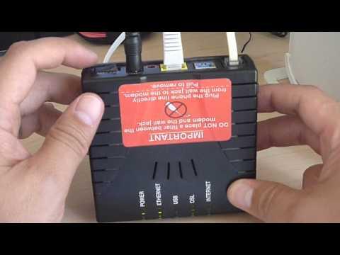 What I did when Verizon internet wasn't working.  Westell 6100 DSL Modem blinking red INTERNET light