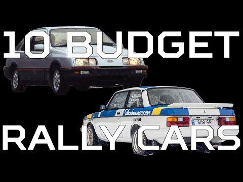 10 Budget Rally Cross Cars