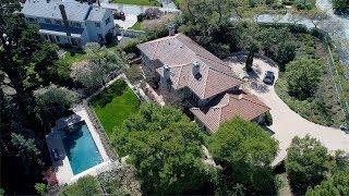 145 Stonepine Road -  Hillsborough, CA 94010 by Douglas Thron drone real estate videos