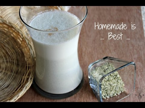 How to make Hemp Milk| Simple Recipe