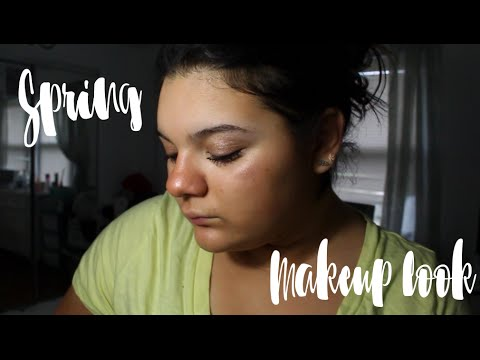 Bright Spring Glowly Makeup  Time Lapse