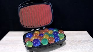 EXPERIMENT What happens if you put ORBEEZ BALLS into the TOASTER