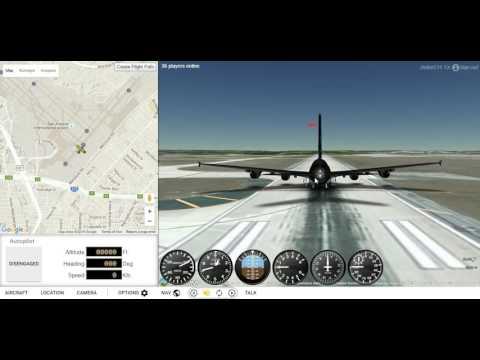 How to fly GEFS-Online Flight Simulator (Now GeoFS)