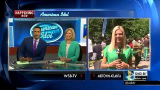 Hundreds wait for chance to audition for American Idol in Atlanta