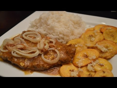 Bistec Encebollado Puerto Rican Steak and Onions - How to make Bistec Encebollado