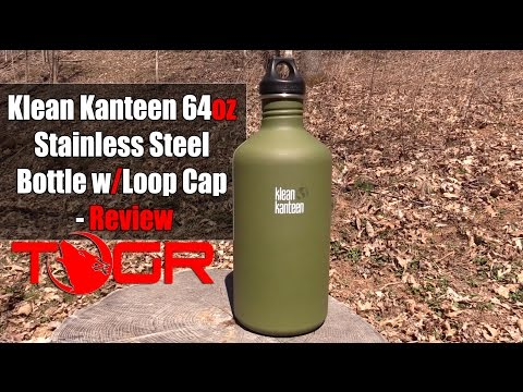 Excellent Quality - Klean Kanteen 64oz Stainless Steel Bottle With Loop Cap - Review