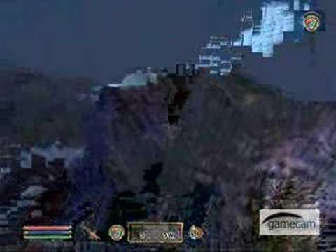 Jump from Divers Peak (oblivion)