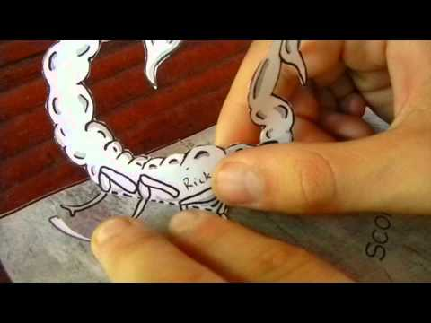 Look Out! How to Make a Scorpion Pop Up Card