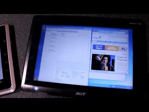 Windows 8 Developer Preview on AMD Fusion tablets