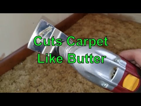 Oscillating Multi Tool For Carpet Removal - 3 Uses To Make It Easier
