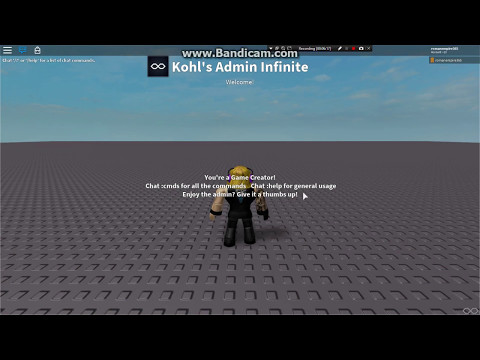 Roblox - How to add Admin commands in your game