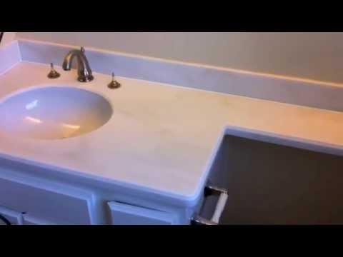 Refinish countertops to look like Granite