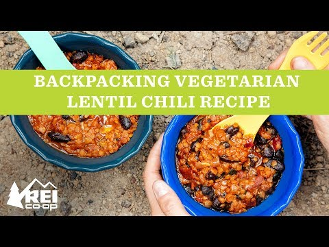 REI   Backpacking Vegetarian Lentil Chili Recipe