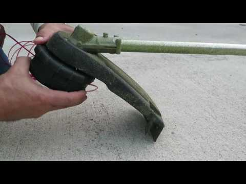Echo Straight Shaft Trimmer How to Wind String Replace