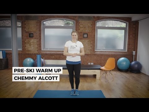 Pre-Ski Warm Up with Chemmy Alcott