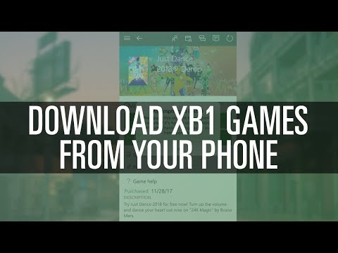 Download XB1 Games From Phone (iOS & Android)