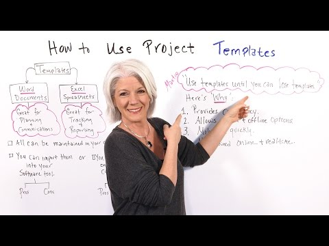 How to Use Project Templates - Project Management Training