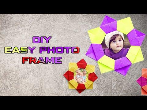 DIY Easy Photo Frame Tutorial l Paper Crafts 2018