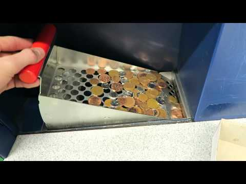 Turn coins in to CASH with Coinstar coin counting Machine