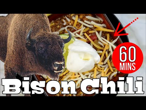Bison Chili | The Starving Chef