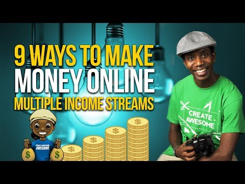 9 Ways I Actually Make Money | Multiple Streams of Income