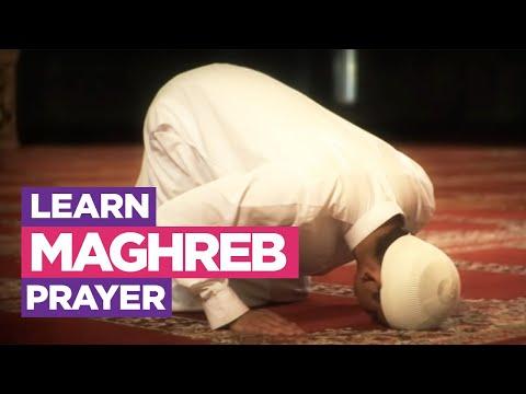My Prayer - The Maghreb Prayer