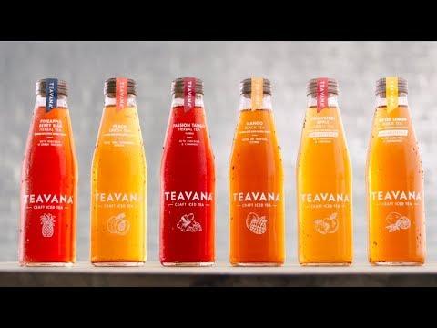 Teavana Bottled Craft Iced Tea