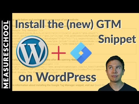 Install Google Tag Manager on Wordpress